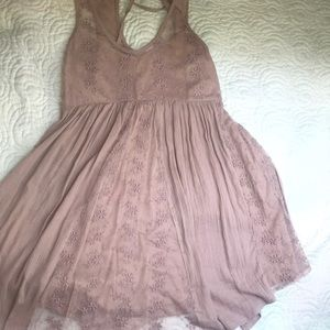 NWOT boho flowy swing dress